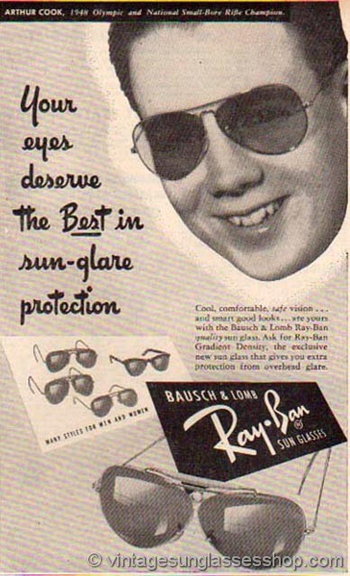 replica ray bans with logo 1ud9  Click to see early B&L Ray-Ban Advertising 1940s