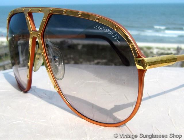 40664fece4 Alpina M1 Tangerine   Gold Sunglasses