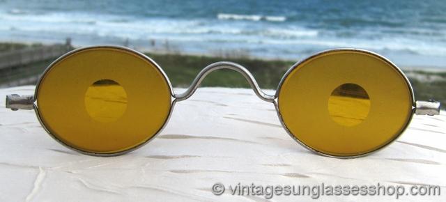 Antique Sunglasses and Eyeglasses c 1850s - 1930s