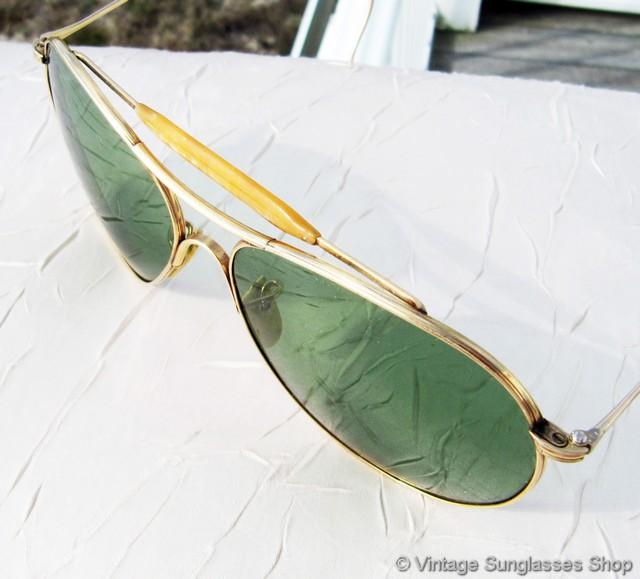 69e55f5569 Amerian Optical 12k GF Ful Vue AN 6531 Sunglasses