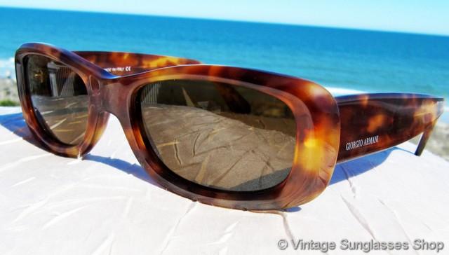 baea3ab5c6 VS2082  Vintage Giorgio Armani 941 144 sunglasses feature a gleaming  translucent Italian tortoise shell frame as it seem only fine Italian  craftsmanship can ...