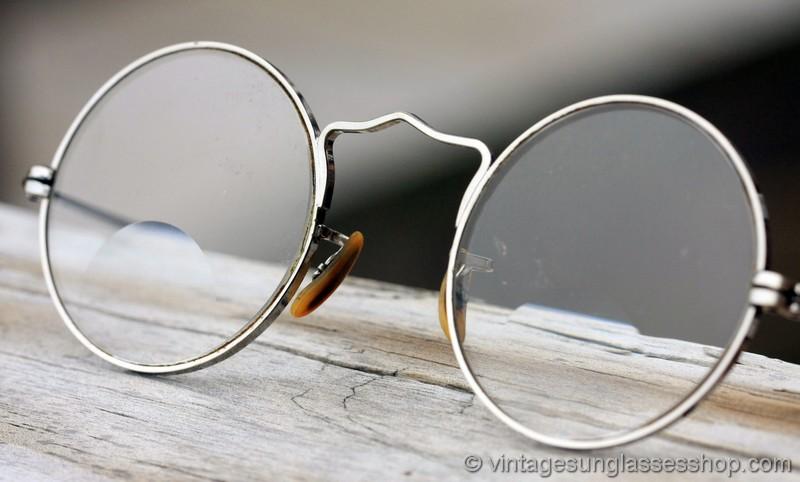 B&l Bausch & Lomb Arco 12k Gold Filled Bifocal Glasses