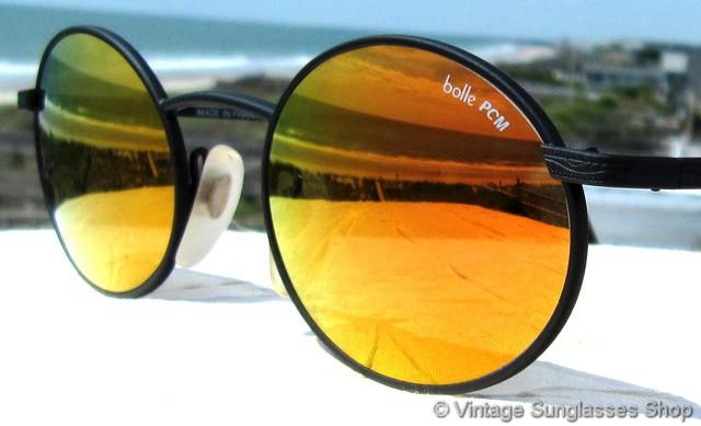 Orange Lens Sunglasses  vintage bolle sunglasses spectra acrylex glacier glasseore