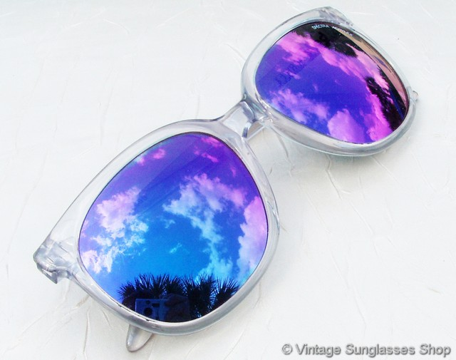 Purple Tinted Sunglasses  vintage sunglasses for men and women page 7