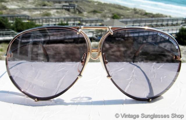 6e5a3bf7838bb Carrera Porsche Design 5621 40 Gold Blue Gradient Sunglasses