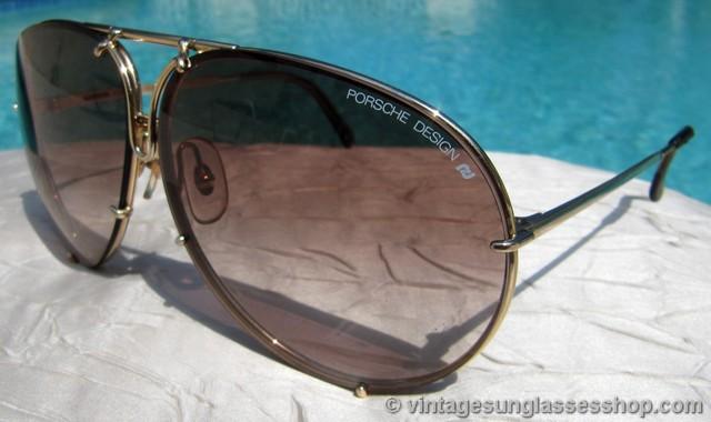 55e0c45b72388 Carrera Porsche Design 5621 40 Gold Sunglasses