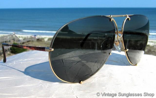 Carrera Porsche Design 5621 47 Tortoise Shell Sunglasses