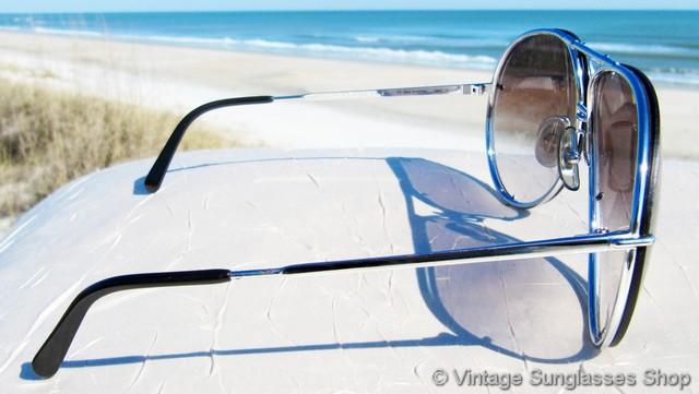 e9c9fd1ba5 Carrera Porsche Design 5621 71 Titanium Silver Sunglasses