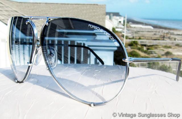 e3b2dd2bc3 Carrera Porsche Design 5621 71 Titanium Silver Blue Gradient Sunglasses