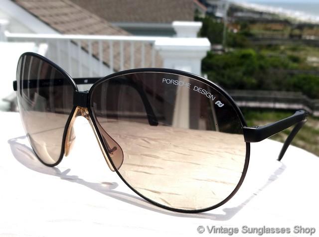 134c1057cb1c VS1227  Vintage Carrera Porsche Design 5626 90 folding sunglasses are a  marvel of modern engineering c 1980s and feature a matte black Austrian  frame ...