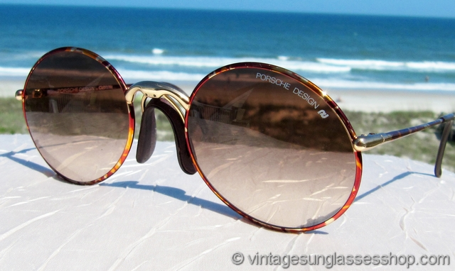 e70b556ecffc VS2047: Vintage Carrera Porsche Design 5658 48 sunglasses feature Carrera  brown gradient lenses in the rare 5658 Tortuga frame, a beautiful and  colorful ...