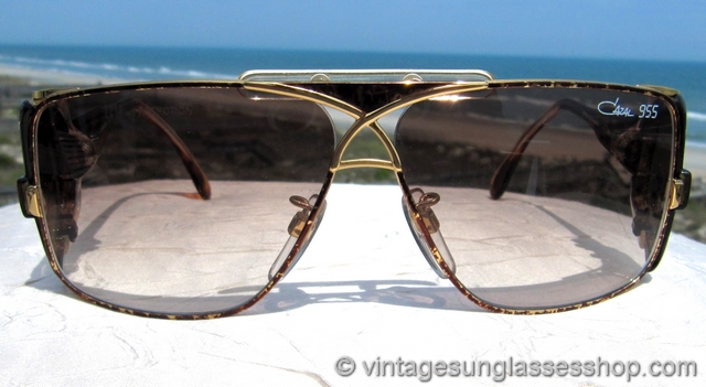 529cc9dacd2f VS1591: Vintage Cazal 955 33 sunglasses feature a stunning tortoise shell  and and gold frame in the iconic Cazal 955 style, and you'll love how it  looks ...