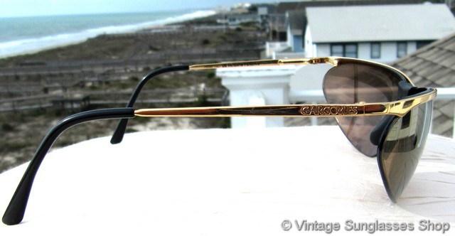 7c501904feb Gargoyles Legends and Legends II Gold Mirror Wrap Sunglasses