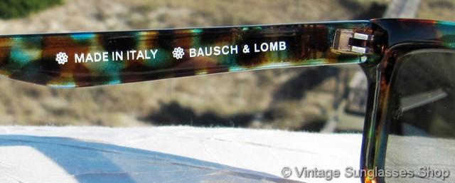 c6460745ef4 VS2553  Vintage Killer Loop W1794 sunglasses feature a beautiful tortoise  shell and teal Wayfarer style frame