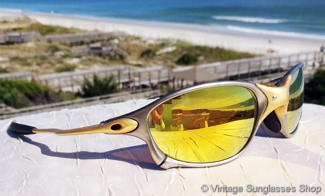 Oakley Xx 24k Gold Iridium Sunglasses