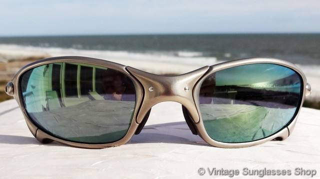 Oakley Emerald Iridium Lens