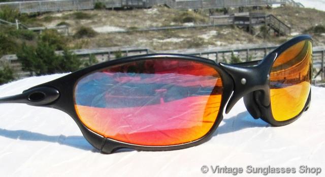 4868604324 Oakley X Metal Juliet Carbon W Ruby Red Iridium Lens « Heritage Malta