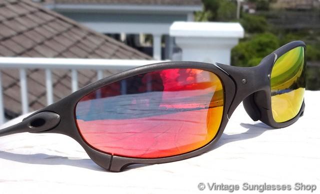 Oakley Juliet X Metal Ruby Iridium Sunglasses   David Simchi-Levi 013c7bb248