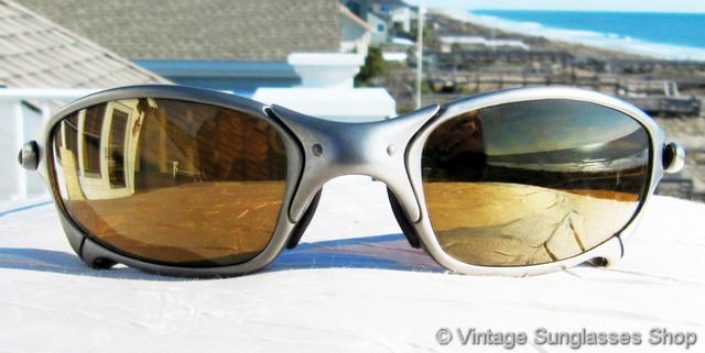 f14f0de0c460d Oakley Juliet X Metal Titanium Gold Iridium Sunglasses