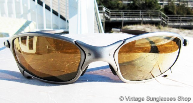 oakley gold frame sunglasses  Vintage Sunglasses For Men and Women - Page 230