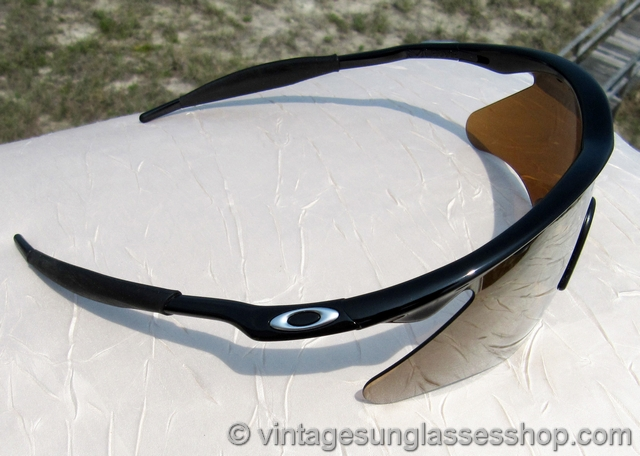 Oakley M Frame Gold Iridium Sunglasses