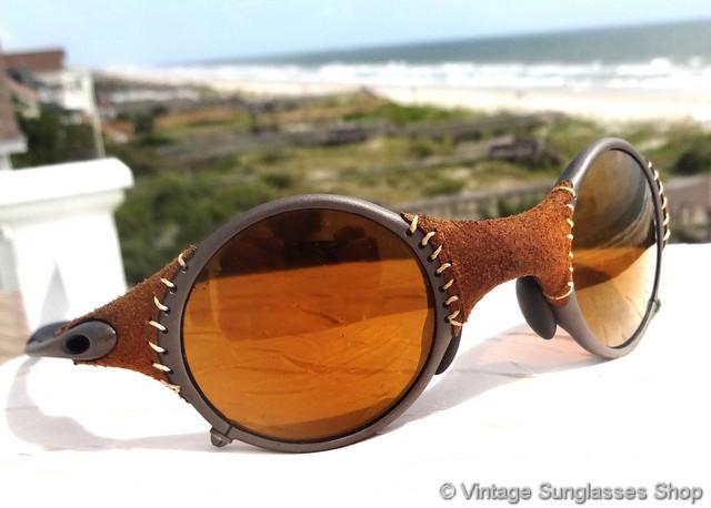 Oakley Mars Sunglasses  oakley mars michael jordan gold iridium leather sunglasses