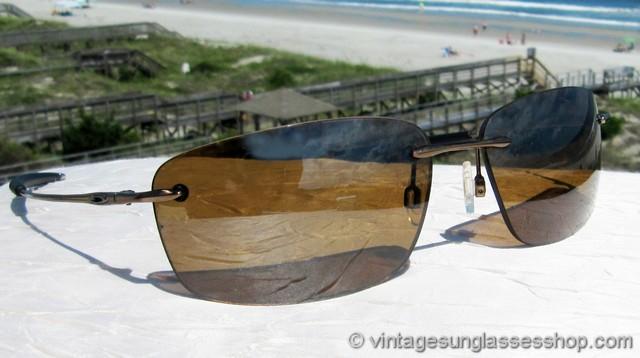 20f0a1de19 Oakley Nanowire 1.0 Tungsten Iridium Polarized Sunglasses