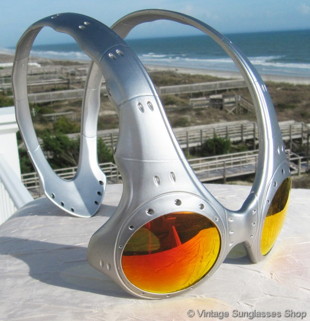 0d3365abd9b Oakley Over The Top FMJ Silver Fire Iridium Sunglasses