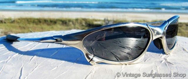 6e50d6f23e2 Oakley Penny X Metal Polished Black Iridium Sunglasses