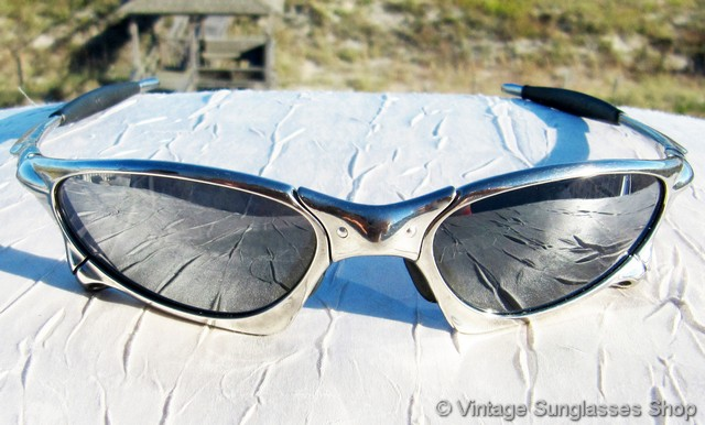 48a6672a6996 Oakley Penny X Metal Polished Black Iridium Sunglasses