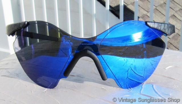08ed72fdcde Oakley Sub Zero 4 Plant X Blue Iridium Mirror Sunglasses