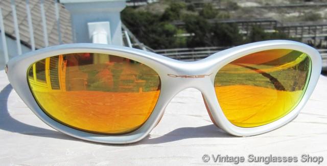 91afc15a8786 Oakley XX Silver Fire Iridium Sunglasses