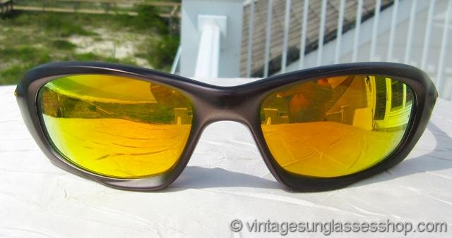 96414bce286 Oakley XX Twenty Gunmetal Fire Iridium Sunglasses