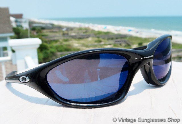 b37c45d6e5 Oakley XX Twenty Black Ice Iridium Sunglasses