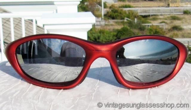 ba922fd2f3 Oakley XX Twenty FMJ Red Chrome Iridium Sunglasses