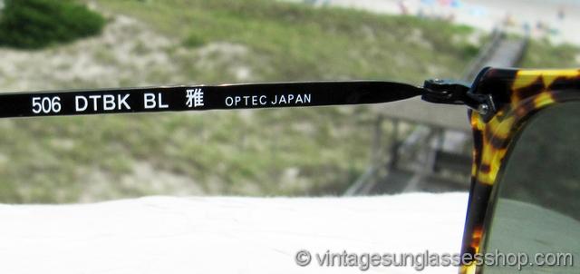 931ad7c0d7366 Oliver Peoples 506 DTBK BL Sunglasses