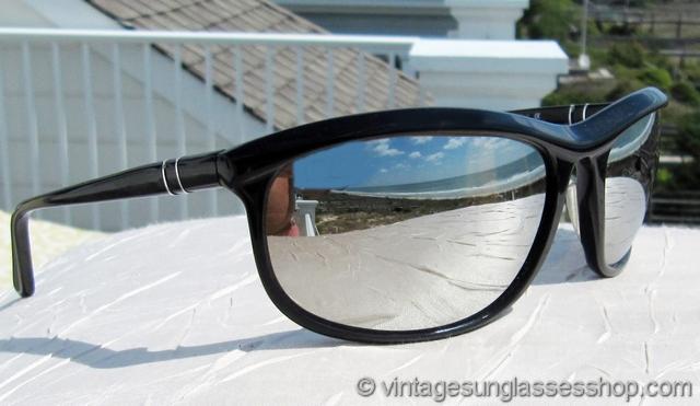 8ac7e7f2d6 Persol 58230 Terminator 2 Mirrored Sunglasses