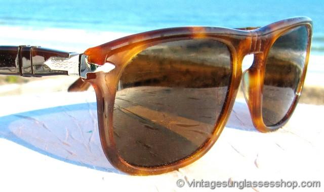 2d948337e6ff1 Persol Ratti 624 3E Honey Tortoise Shell Sunglasses