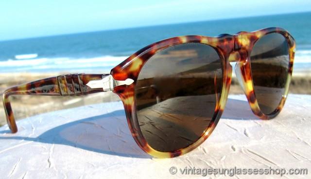 ebfc72ddcd79 Persol Ratti 649 3 Yellow Tortoise Shell Sunglasses
