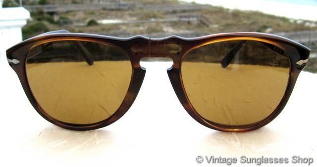 78e92d472b26d Persol Ratti 649 2 Brevettato Tortoise Shell Sunglasses