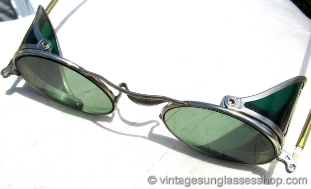 Goggles Sunglasses  vintage and antique sunglasses steampunk and motorcycle goggles
