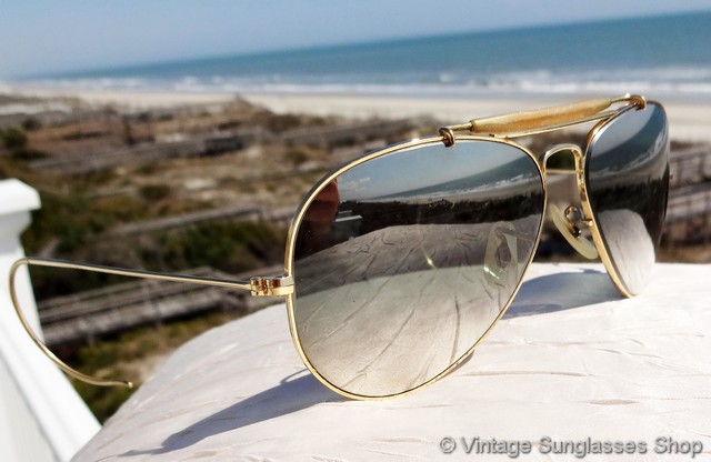 74d2b99c51f Vintage Ray Ban Double Gradient Mirror Sunglasses