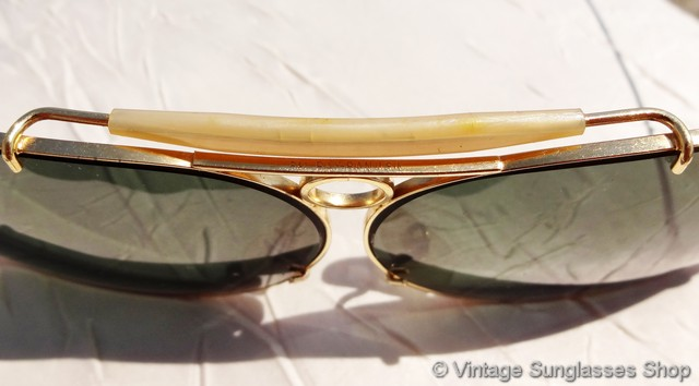917d0eb9626adb Ray-Ban 12k GF and 10k GO Bullet Hole Decot Shooter Sunglasses