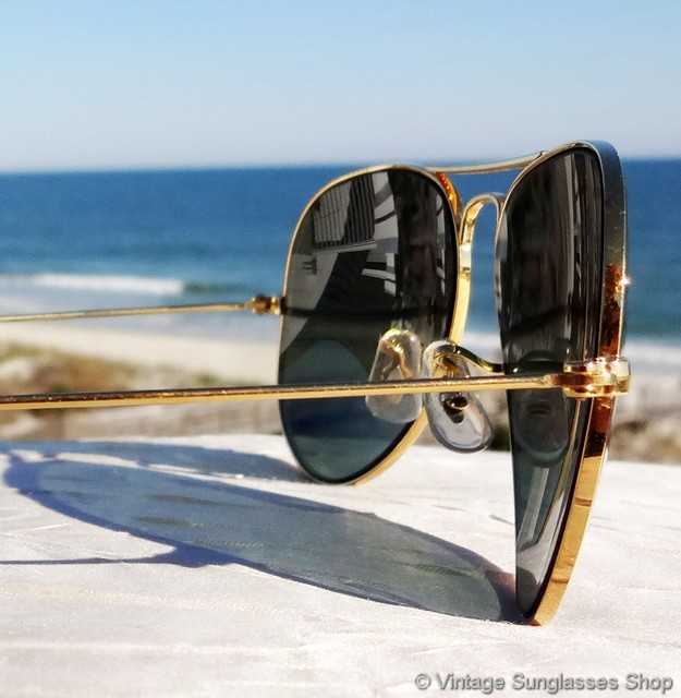 ray ban vintage glasses  vs009: vintage ray ban 58mm aviator sunglasses are the iconic bausch & lomb aviators that have been a top choice of both the general public and celebrities