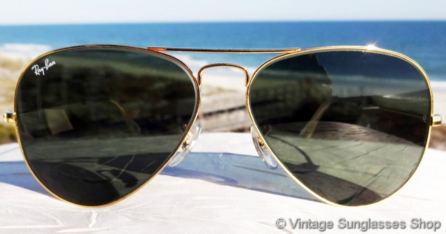 vintage ray ban aviator sunglasses value  photo 12