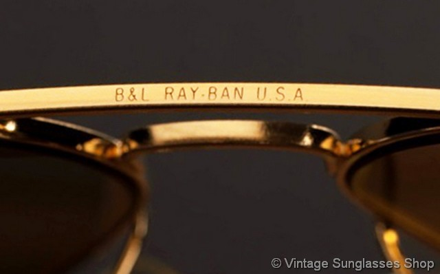 328f1de26aa30 VS009  Vintage Ray-Ban 58mm aviator sunglasses are the iconic Bausch   Lomb  aviators that have been a top choice of both the general public and  celebrities ...