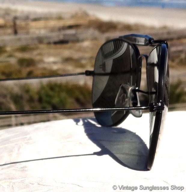 7c911541551c Ray-Ban 58mm Double Gradient Mirror Black Shooter Sunglasses