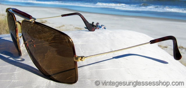 1200550883 Ray-Ban Tortuga Caravan Sunglasses