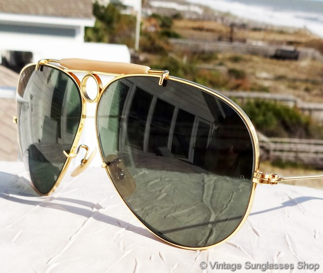 Aviator Copper Sunglasses With Amber Lens With 400 UV Protection