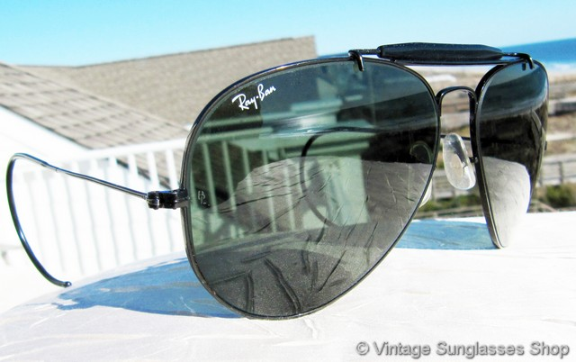 Ray Ban 3030 Aviator Sunglasses With Wire Wrap Ears Www Panaust Com Au
